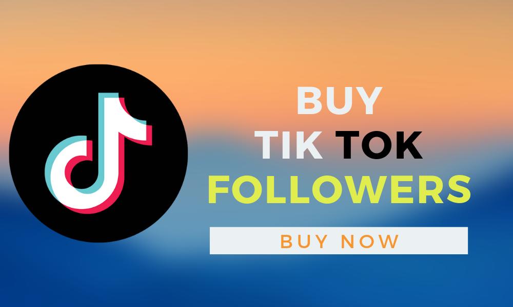buy cheap tiktok followers